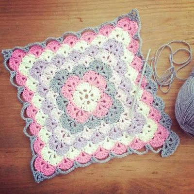 Crochet Stitches for Baby Blankets Beautiful Shell Stitch Baby Blanket – Free Pattern Yarn Crochet Of Amazing 45 Pics Crochet Stitches for Baby Blankets