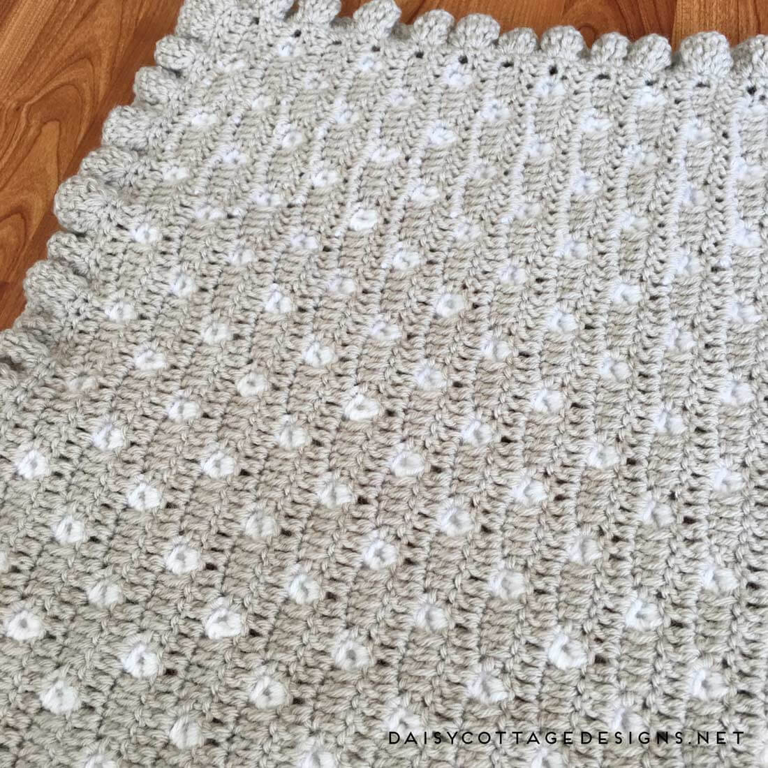 Crochet Stitches for Baby Blankets Inspirational Crochet Baby Blanket Pattern From Daisy Cottage Designs Of Amazing 45 Pics Crochet Stitches for Baby Blankets