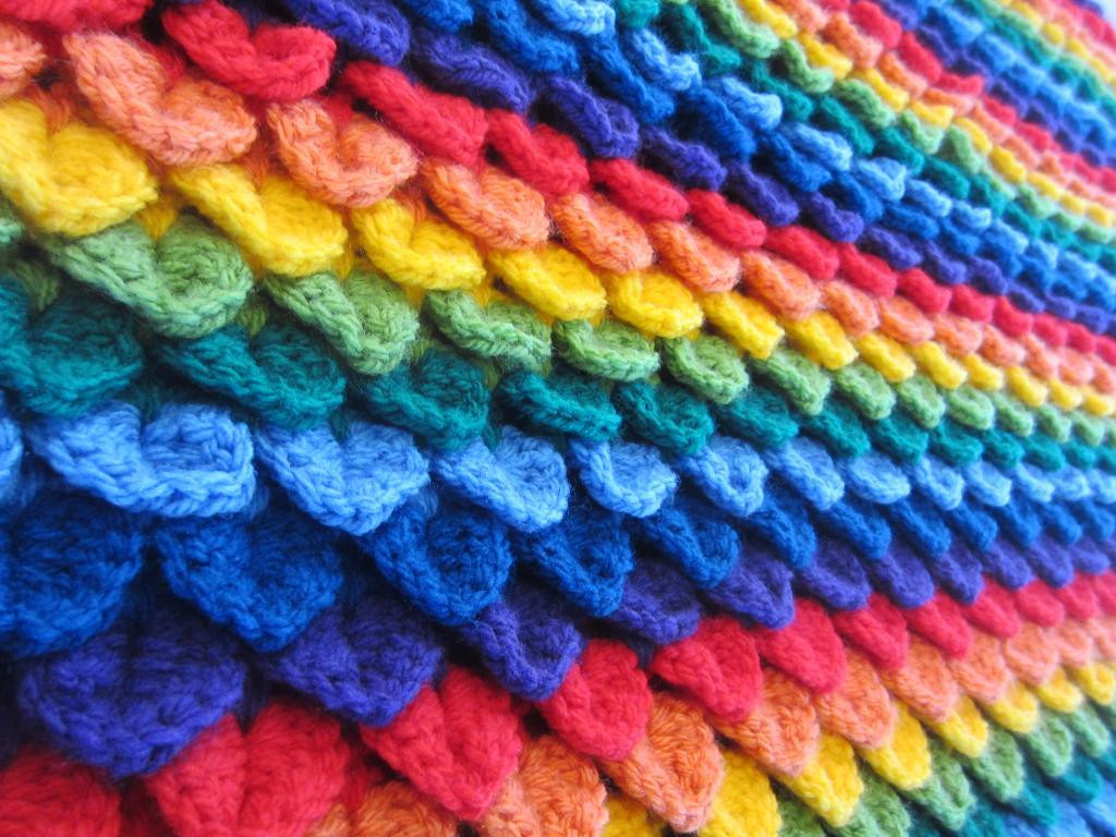 Crochet Stitches for Baby Blankets Lovely Crocodile Crochet Baby Blanket [free Pattern] Of Amazing 45 Pics Crochet Stitches for Baby Blankets