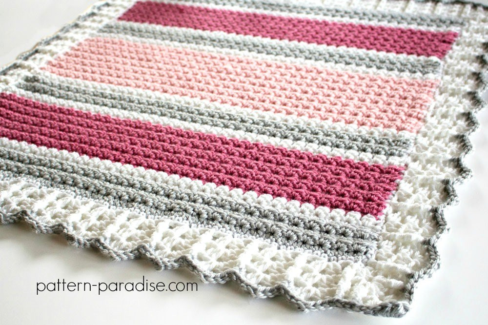 Crochet Stitches for Baby Blankets Unique Free Crochet Pattern Essentials Baby Blanket Of Amazing 45 Pics Crochet Stitches for Baby Blankets