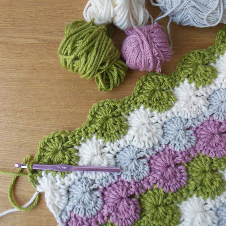 Crochet Stitches for Blankets Inspirational Easy Crochet Blanket Starburst Stitch Blanket Tutorial Of New 42 Images Crochet Stitches for Blankets