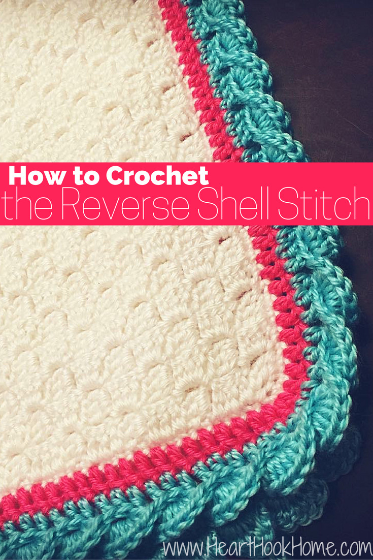 Crochet Stitches for Blankets Inspirational How to Crochet the Reverse Shell Stitch with S Of New 42 Images Crochet Stitches for Blankets