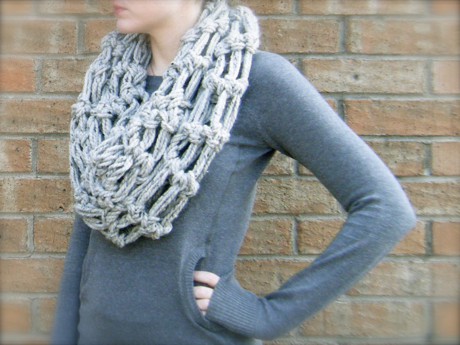 bulky yarn crochet patterns scarf