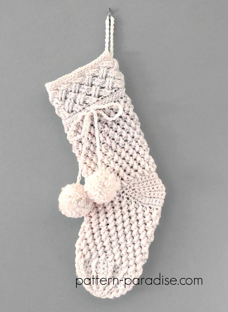 Crochet Stocking Elegant 12 Crochet Christmas Stocking Patterns Full Of Holiday Spirit Of Unique 48 Models Crochet Stocking