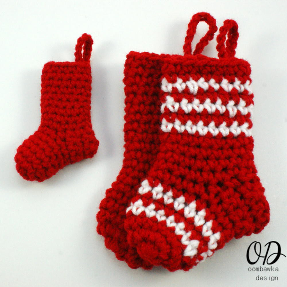 Crochet Stocking Elegant Little Christmas Stockings Of Unique 48 Models Crochet Stocking