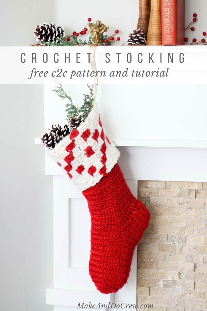 Crochet Stocking Fresh nordic Crochet Christmas Stocking Free Pattern From Make Of Unique 48 Models Crochet Stocking