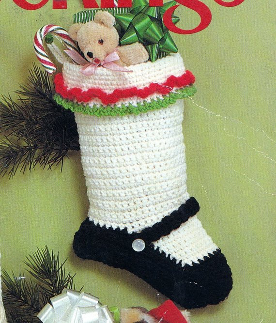 Crochet Stocking Inspirational Crocheted Christmas Stocking Patterns – Crochet Club Of Unique 48 Models Crochet Stocking