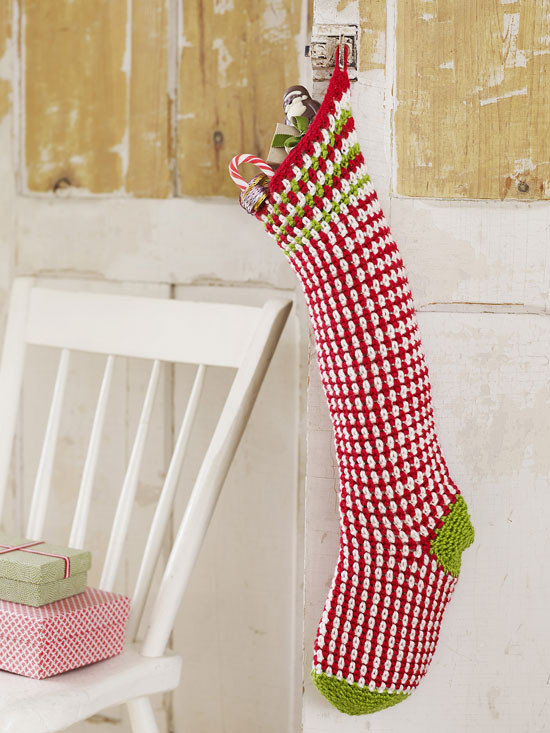 40 All Free Crochet Christmas Stocking Patterns Patterns Hub