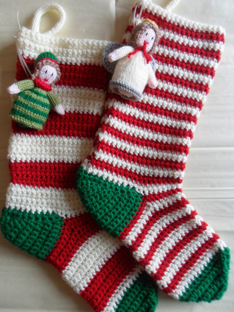 Crochet Stocking New Crocheted Christmas Stockings On Pinterest Of Unique 48 Models Crochet Stocking