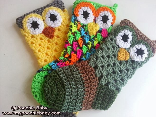 Raising Mimi PoochieBaby Crochet Pattern for Owl