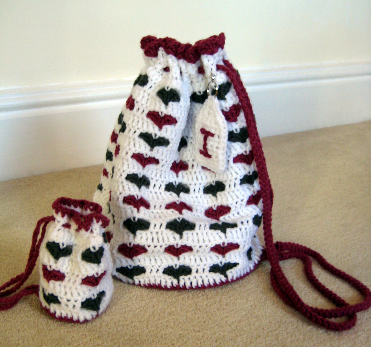 Little Hearts Drawstring Bags