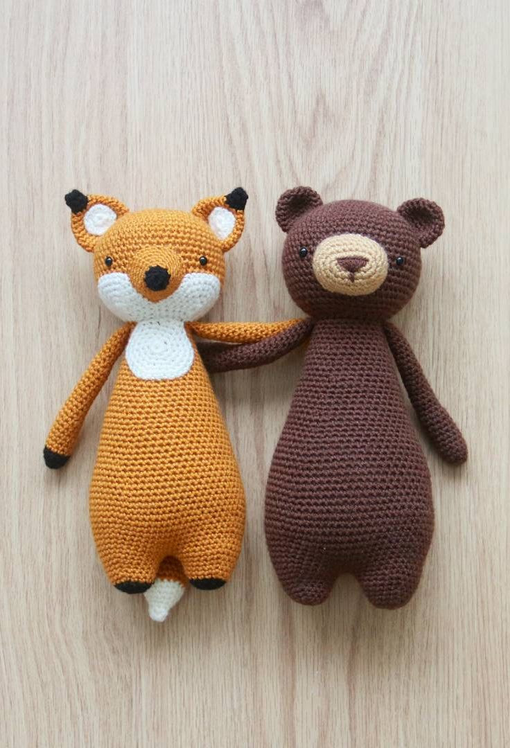 Crochet Stuffed Animals Awesome Crochet Patterns by Little Bear Crochets Of Incredible 42 Images Crochet Stuffed Animals