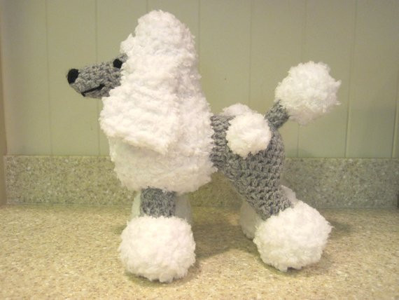 Crochet Stuffed Animals Awesome Crocheted Poodle Stuffed Animal Pattern Digital Download Of Incredible 42 Images Crochet Stuffed Animals
