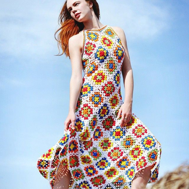 Rev up your style statement with a crochet dress