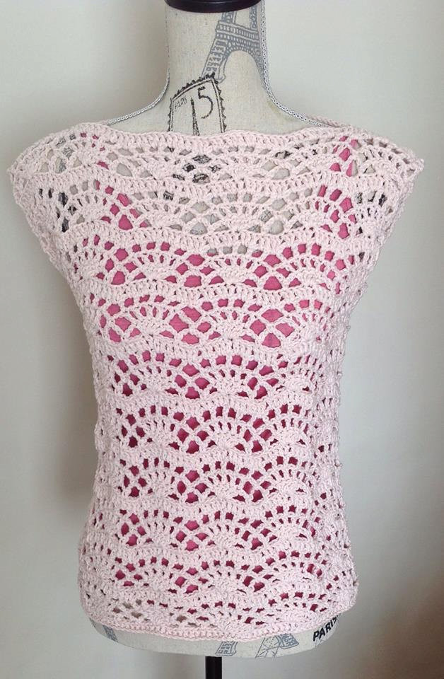 Crochet Summer top Pattern Beautiful Crochet Tank top Pattern Crochet top Pattern Summer top Of Wonderful 48 Models Crochet Summer top Pattern