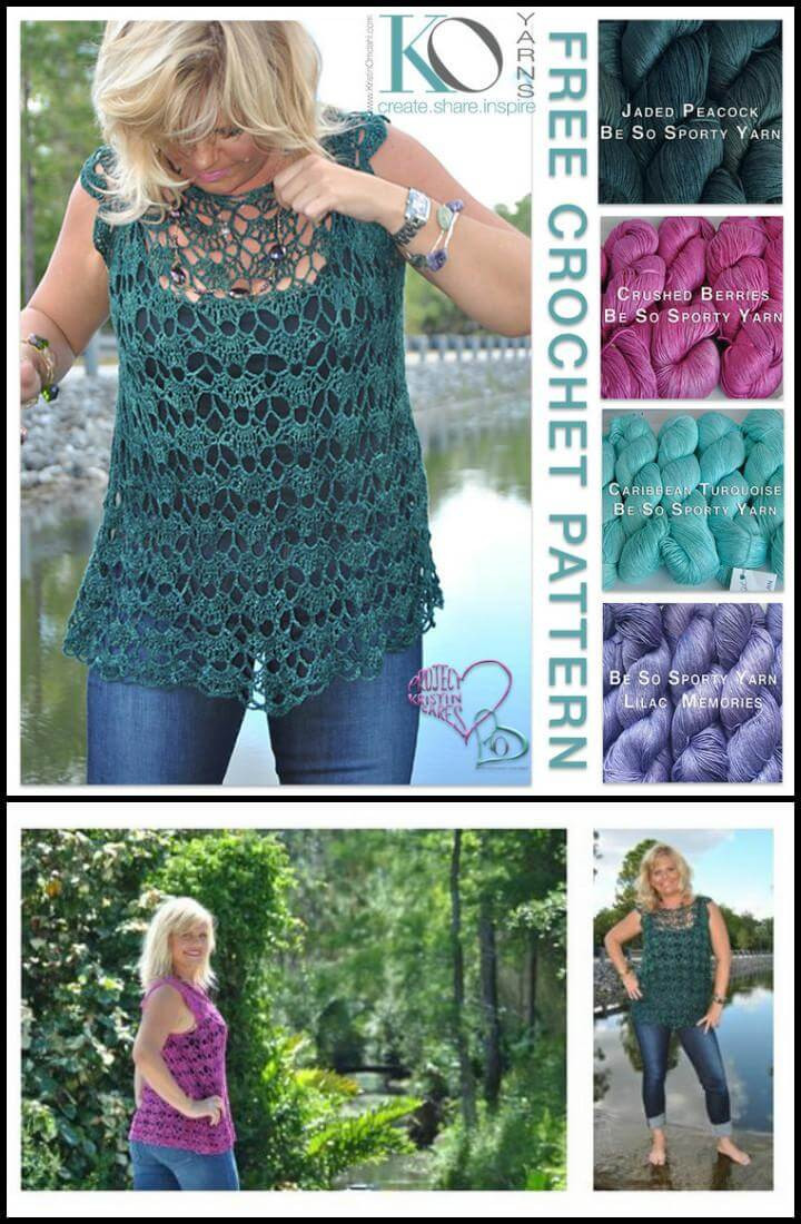 Crochet Summer top Pattern Inspirational 50 Quick & Easy Crochet Summer tops Free Patterns Diy Of Wonderful 48 Models Crochet Summer top Pattern