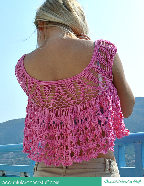 Free Crochet Patterns For Summer Tops Dancox for