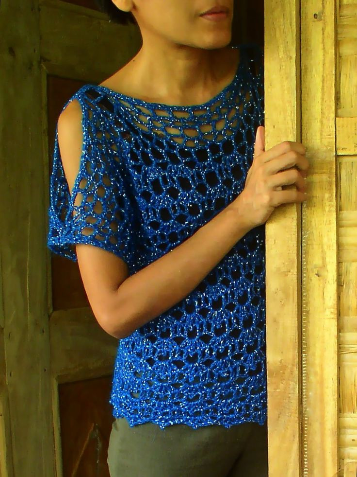 1090 best images about Crochet Women s Tops on Pinterest