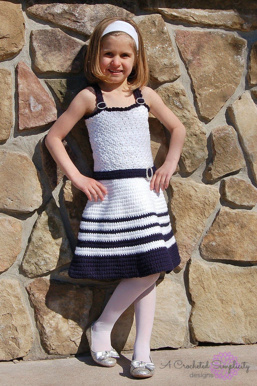 Crochet Pattern Sweet & Sassy Sundress Newborn
