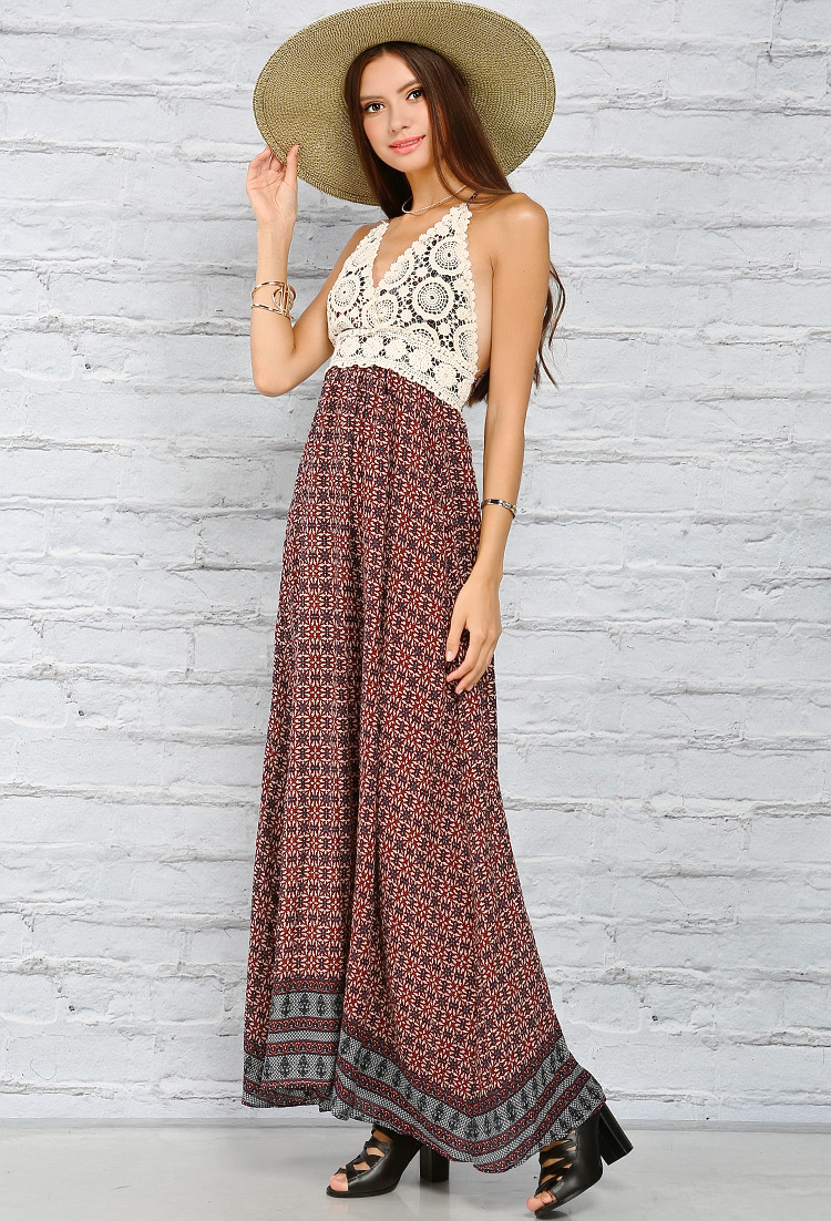 Crochet Sundress Luxury Crochet Detailed Strappy Maxi Sundress Of Gorgeous 43 Pictures Crochet Sundress