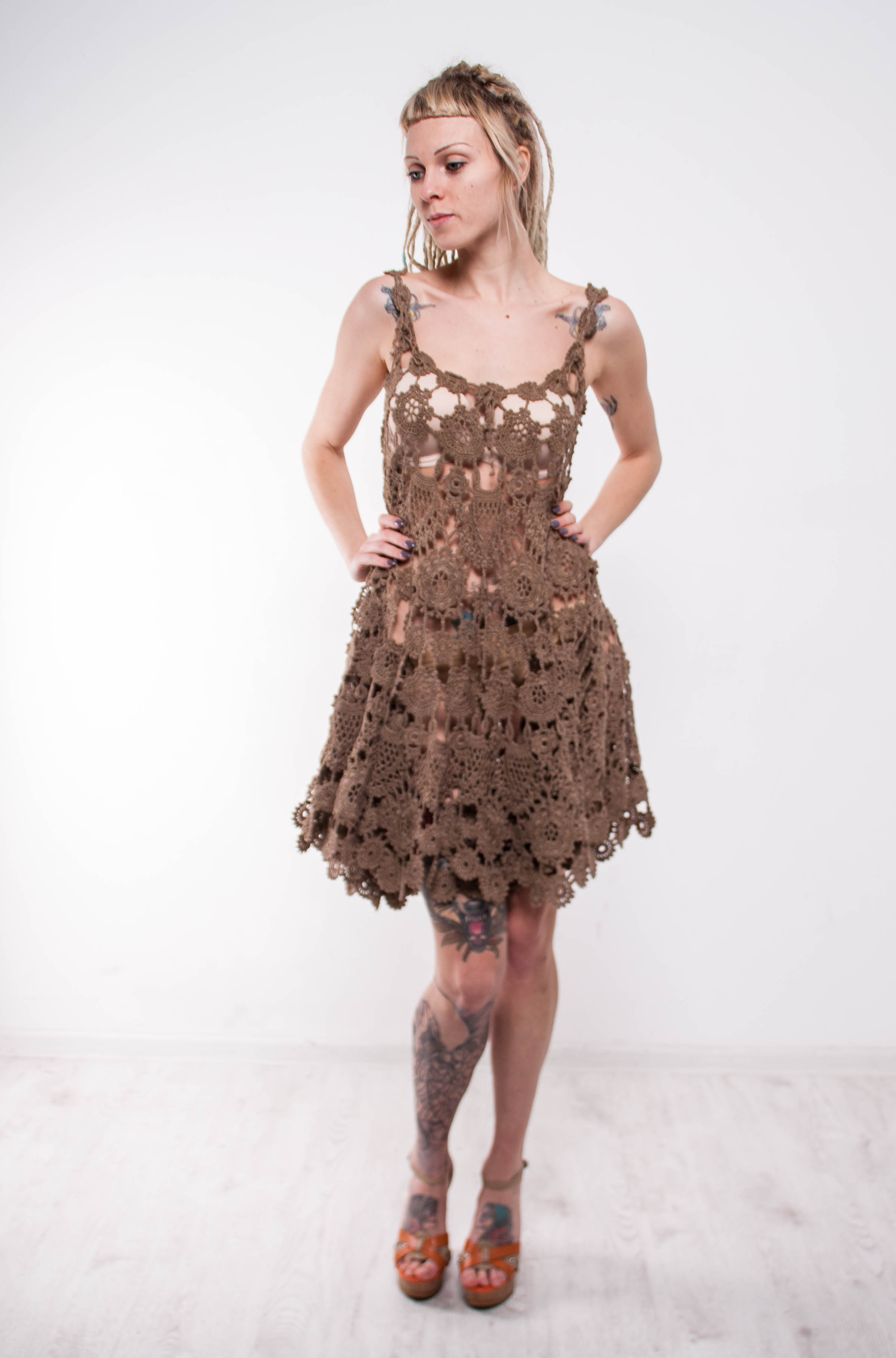 Crochet Sundress Unique Brown Crochet Dress Walnut Dress Irish Lace Dress Prom Of Gorgeous 43 Pictures Crochet Sundress