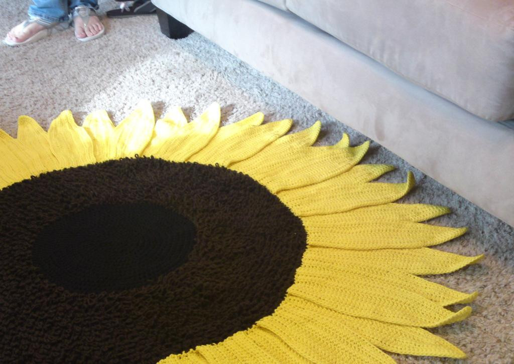 Crochet Sunflower Afghan Pattern Awesome Crochet Sunflower Patterns to Brighten Up Your Life Of Brilliant 50 Ideas Crochet Sunflower Afghan Pattern