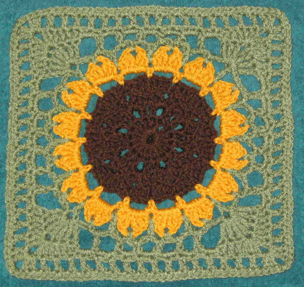 Crochet Sunflower Afghan Pattern Awesome Sunflower Crochet Afghan Pattern – Easy Crochet Patterns Of Brilliant 50 Ideas Crochet Sunflower Afghan Pattern