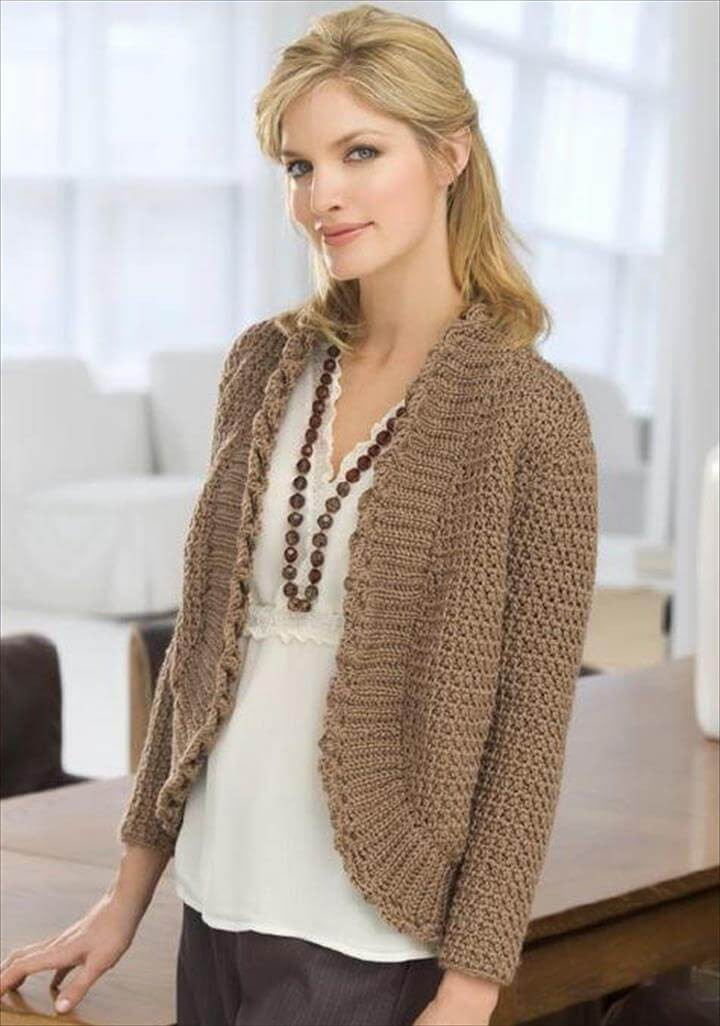 Crochet Sweater Patterns Inspirational 20 Awesome Crochet Sweaters for Women S Of Adorable 40 Ideas Crochet Sweater Patterns