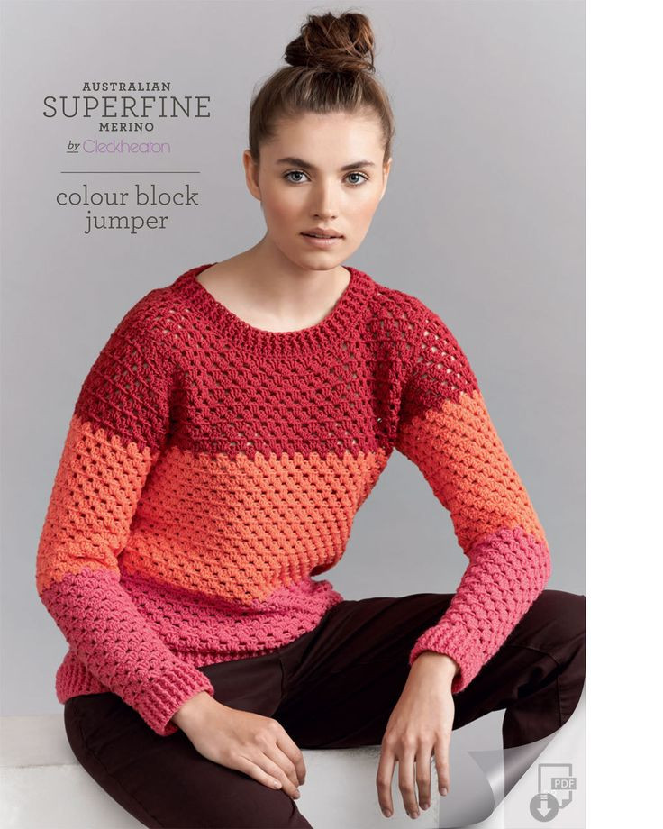 Crochet Sweaters Inspirational 144 Best Australian Superfine Merino by Cleckheaton Images Of Fresh 50 Images Crochet Sweaters