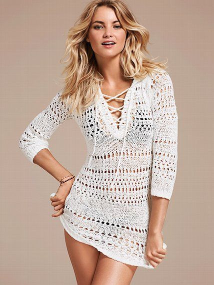 Crochet Swim Cover Up Awesome New Hooded Crochet Cover Up Sweater Victoriassecret Of Lovely 46 Pictures Crochet Swim Cover Up
