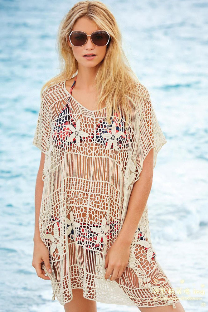 Crochet Swim Suit Awesome Beach Cover Up 2015 New Swim Cover Up Women Bathing Suit Of Marvelous 44 Models Crochet Swim Suit