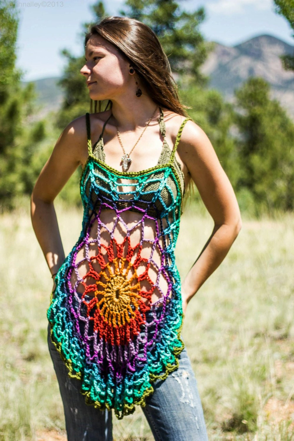 Crochet Swim Suit Elegant Crochet Mandala Tunic Dress Swimsuit Coverup Of Marvelous 44 Models Crochet Swim Suit