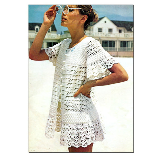 Crochet Swimsuit Cover Up Pattern Beautiful Crochet Coverup Patterns – Crochet Patterns Of Perfect 49 Photos Crochet Swimsuit Cover Up Pattern