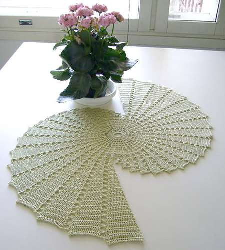 Crochet Table Runner Patterns Fresh Spiral Doily Crochet Of Amazing 45 Pics Crochet Table Runner Patterns