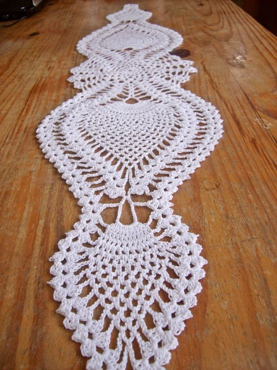 Crochet Table Runner Patterns Fresh Table Runners Doilies Crochet and Runners On Pinterest Of Amazing 45 Pics Crochet Table Runner Patterns