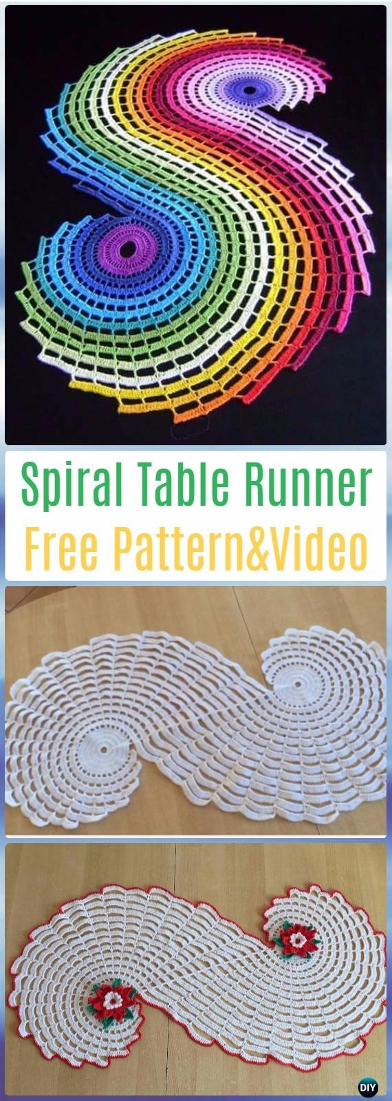 Crochet Table Runner Patterns Luxury Crochet Table Runner Free Patterns & Tutorials Of Amazing 45 Pics Crochet Table Runner Patterns