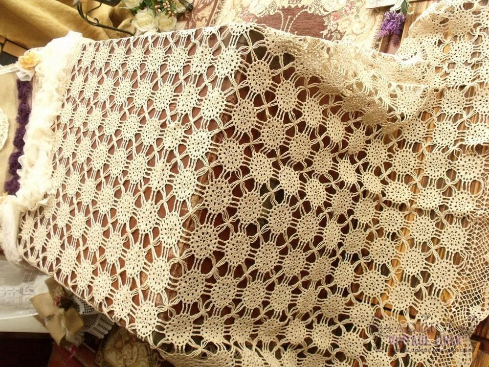 Crochet Tablecloth Awesome Thin Thread Taupe Vtg Large Hand Crochet Lace Tablecloth Of Perfect 43 Images Crochet Tablecloth