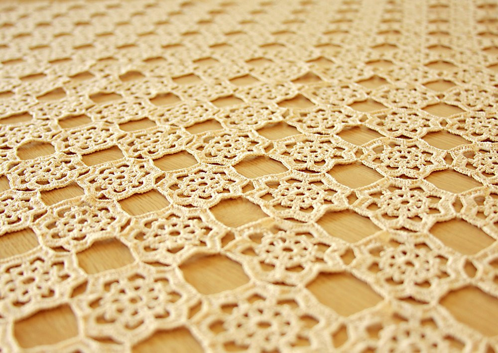 Crochet Tablecloth Best Of Square Crochet Tablecloth Of Perfect 43 Images Crochet Tablecloth