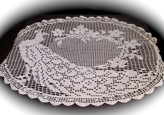 Crochet Tablecloth Inspirational Crochet Table Cloth Patterns Free Patterns Of Perfect 43 Images Crochet Tablecloth