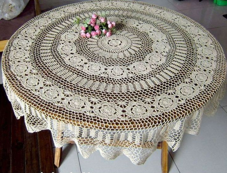 Crochet Tablecloth Lovely 32 Best Images About Crochet Ideas Tablecloths On Of Perfect 43 Images Crochet Tablecloth