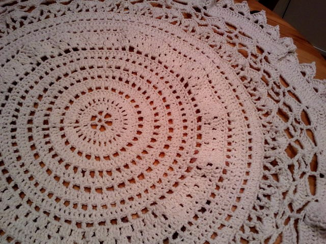 Crochet Tablecloth Luxury Mamie's Tablecloth – A Free Pattern Of Perfect 43 Images Crochet Tablecloth