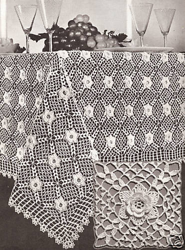 Crochet Tablecloth Luxury Vintage Irish Rose Crochet Motif Tablecloth Pattern Of Perfect 43 Images Crochet Tablecloth
