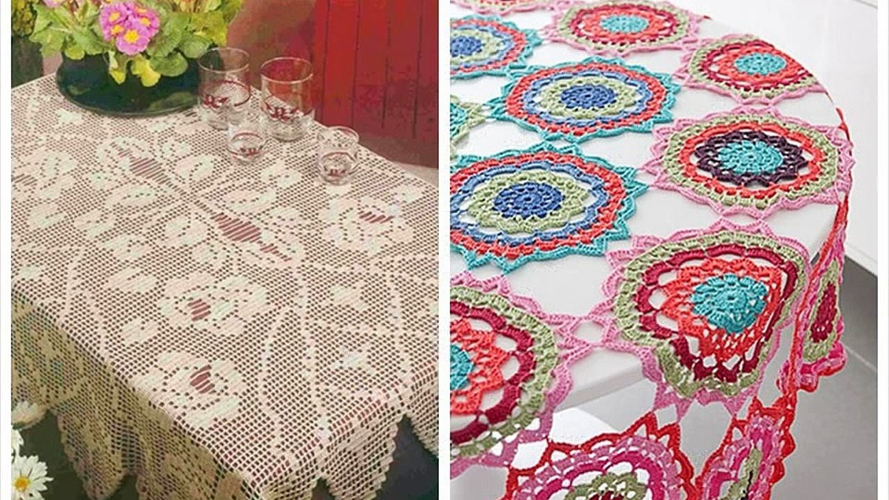 Crochet Tablecloth Pattern Awesome 35 Crochet Lace Tablecloth Patterns the Funky Stitch Of Fresh 41 Photos Crochet Tablecloth Pattern
