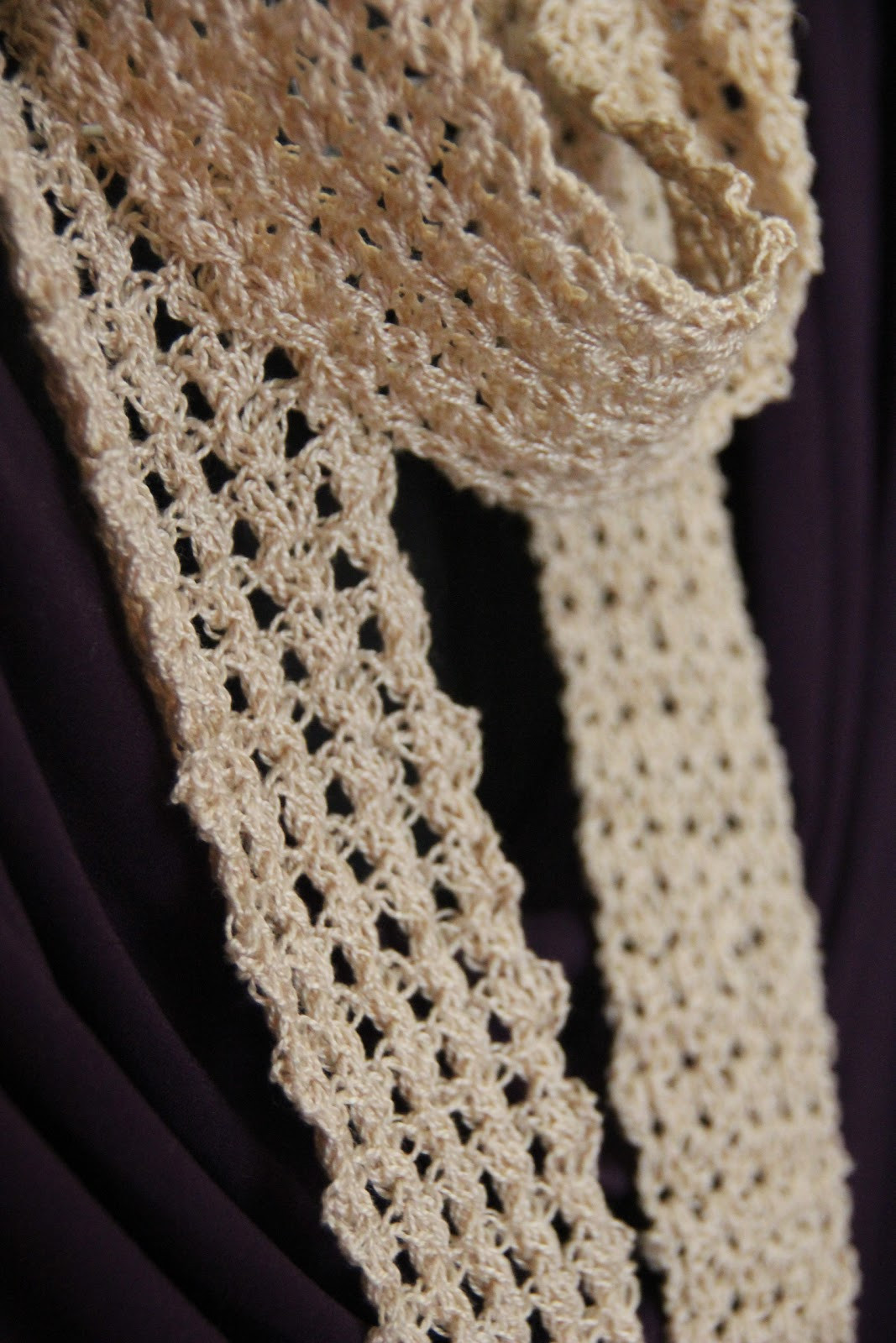 The Philosopher s Wife Lacy Scarf My First Time to Use