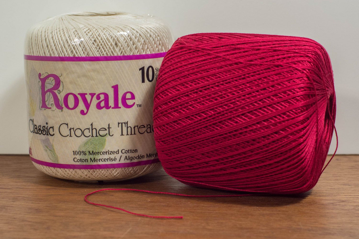 Crochet Thread Size 10 Best Of J & P Coats Royale Cotton Crochet Thread Size 10 Two Colors Of Innovative 40 Pics Crochet Thread Size 10