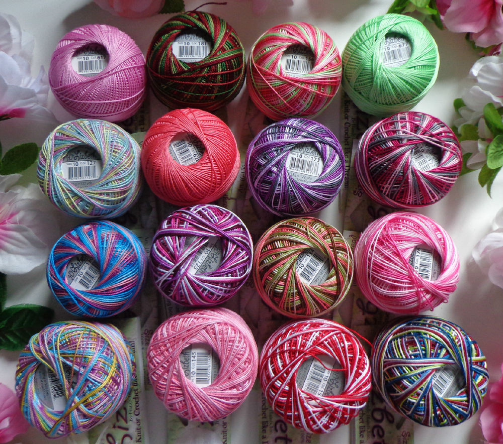 Crochet Thread Size 10 New New Lizbeth Cotton Thread Crochet Knitting Tatting Size 10 Of Innovative 40 Pics Crochet Thread Size 10
