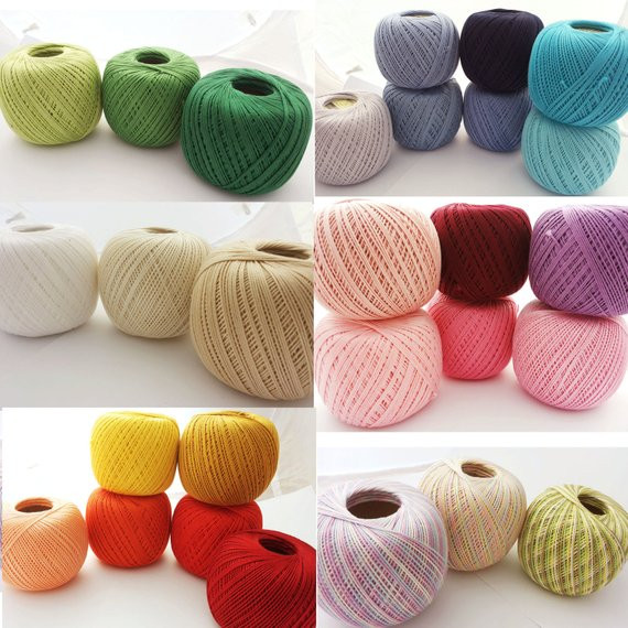 Crochet Thread Sizes Awesome Crochet Cotton Thread Size 10 50g X 225m 3ply Of Fresh 46 Images Crochet Thread Sizes