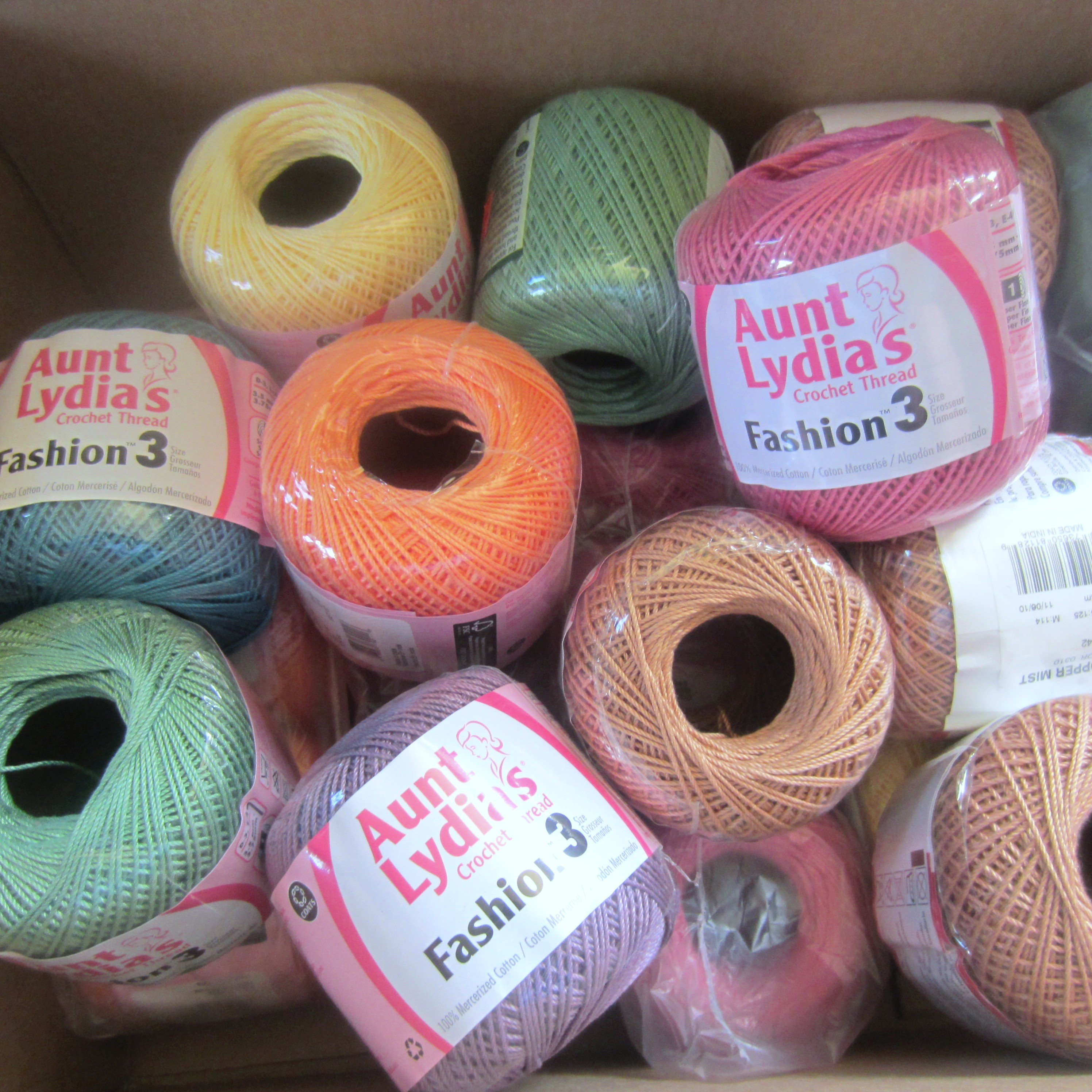 Crochet Thread Sizes Best Of New Stash New Project Aunt Lydia's Fashion 3 Of Fresh 46 Images Crochet Thread Sizes
