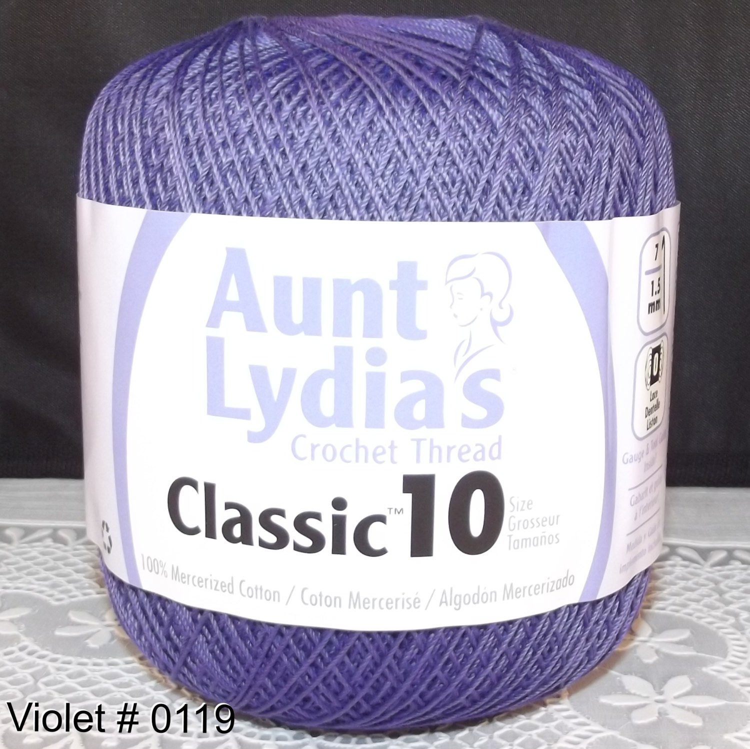 Crochet Thread Sizes Luxury Crochet Cotton Thread Aunt Lydia Classic Size 10 Violet Of Fresh 46 Images Crochet Thread Sizes