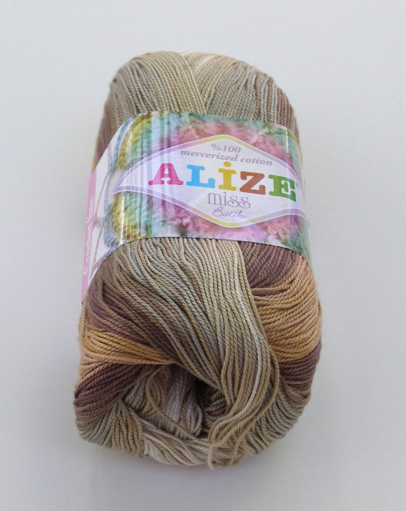 Alize Miss Batik crochet thread size 10 by pegas246